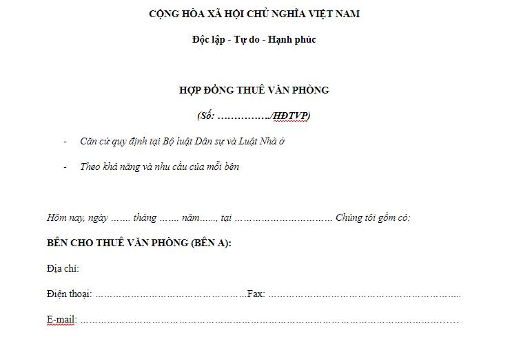 mau-hop-dong-cho-thue-van-phong-ao