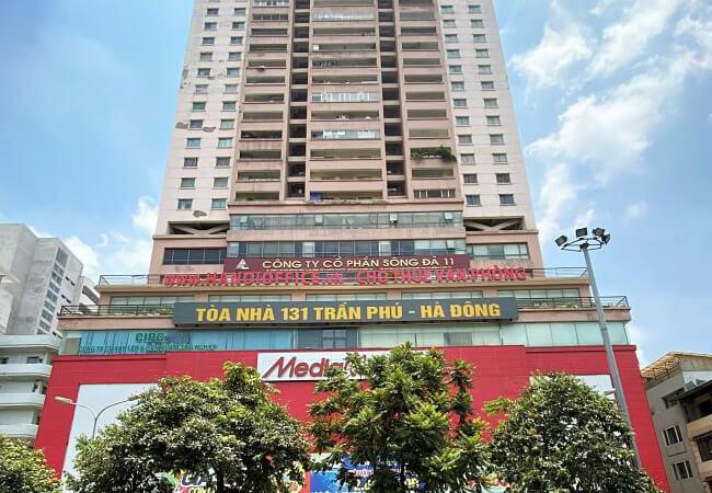 Tòa nhà cho thuê văn phòng 131 Trần Phú