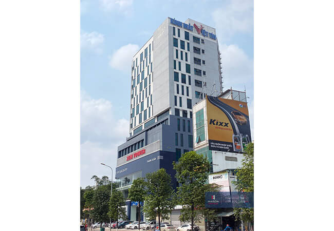 Tòa nhà cho thuê văn phòng Zen Tower 12 Khuất Duy Tiến